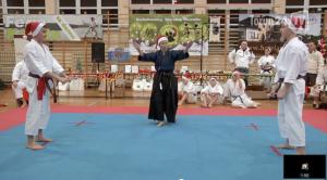 Świąteczny turniej karate w Szkole Podstawowej nr 2