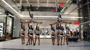 pokaz cheerleaderki